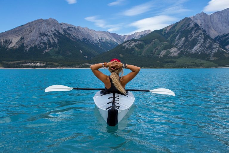 on the go wellness chiropractors miami how to get fit and healthy fast woman in canoe