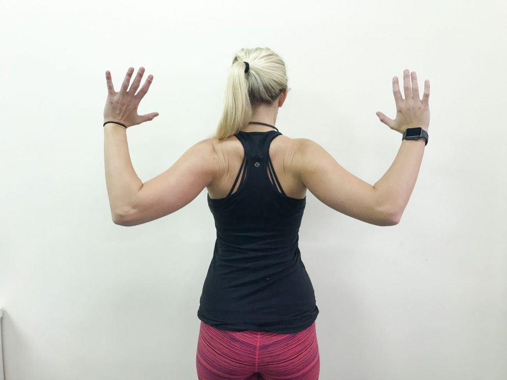 On The Go Wellness chiropractor miami scapular retraction