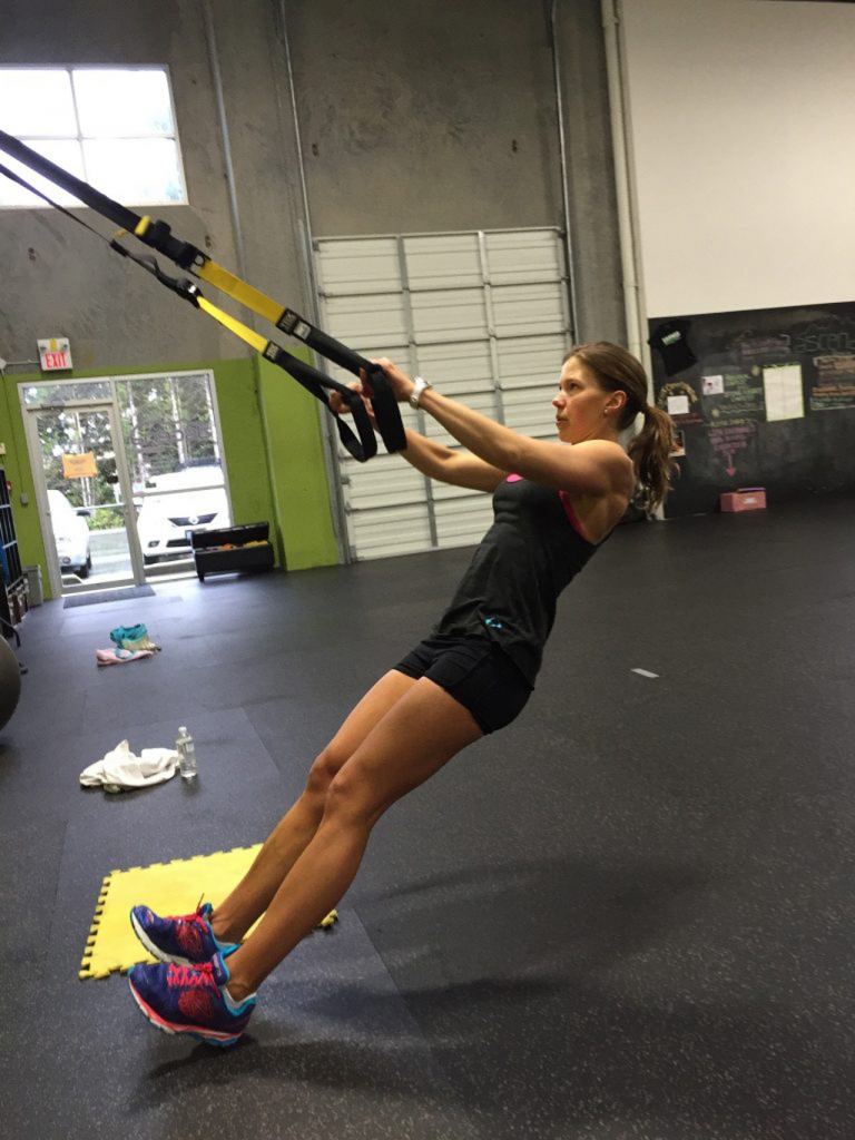 On The Go Wellness Chiropractor Miami TRX Bands To Improve Posture