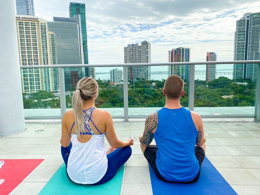 On The Go Wellness Chiropractor Miami Yoga Reduces Stress